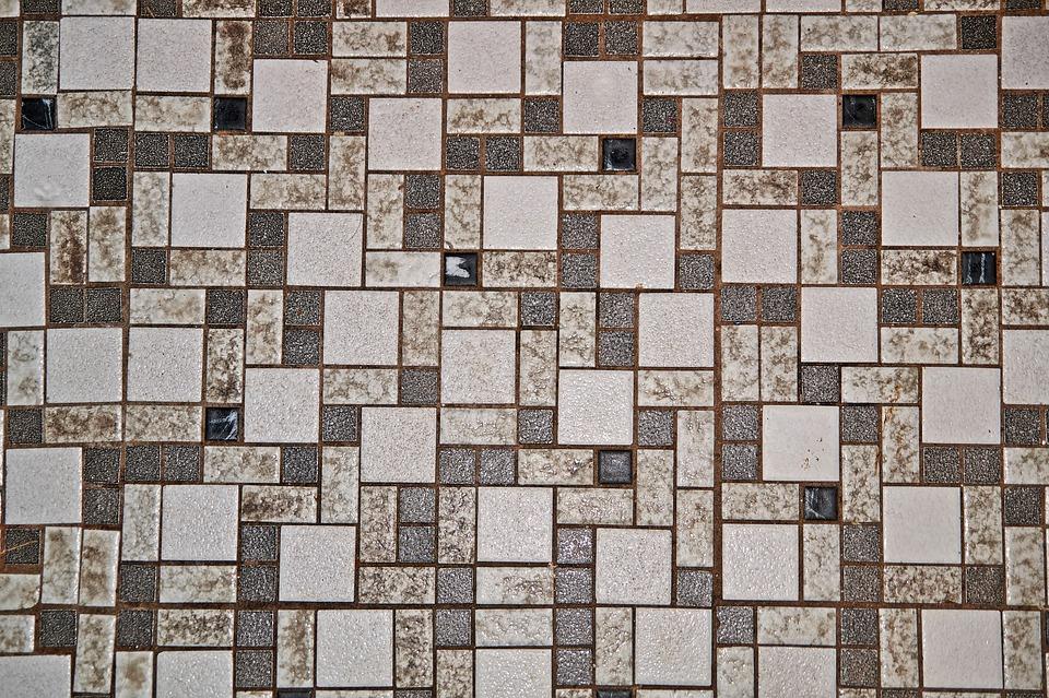 Мозаичная плитка, пример