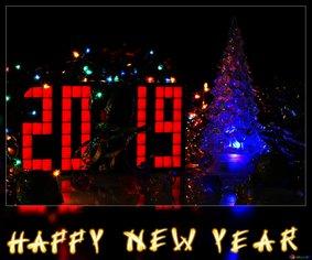 Новый год 2019, Фокстрот Фасилитти Менеджмент